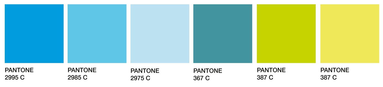 Soggiorno in verde e azzurro Per unestate di 365 giorni  Cose di Casa