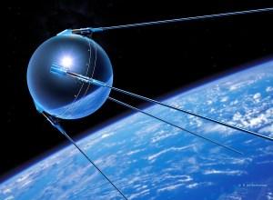 Disegno del satellite