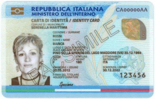 In arrivo la carta d\'identità elettronica