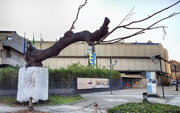 Alla Galleria d'Arte Moderna, Helmut Newton.Works