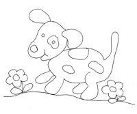 Disegno di cane pezzato - Cose Per Crescere