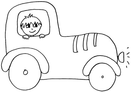 bambino-macchina