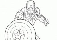 Disegno di Capitan America