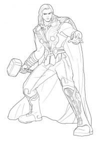 Disegno di Thor - Cose Per Crescere
