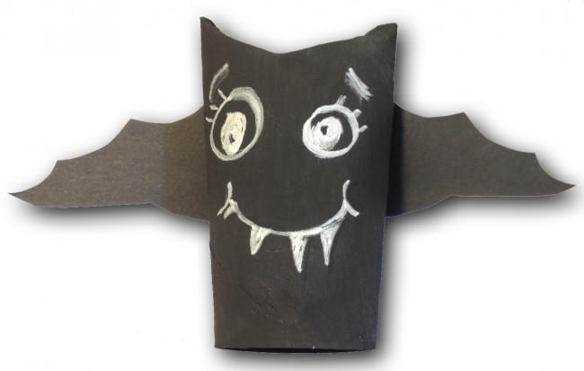 Un pipistrello da un rotolo  Cose Per Crescere