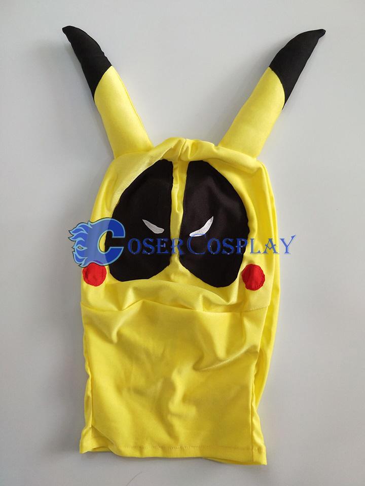 2018 Deadpool Pikachu Kids Halloween Costume