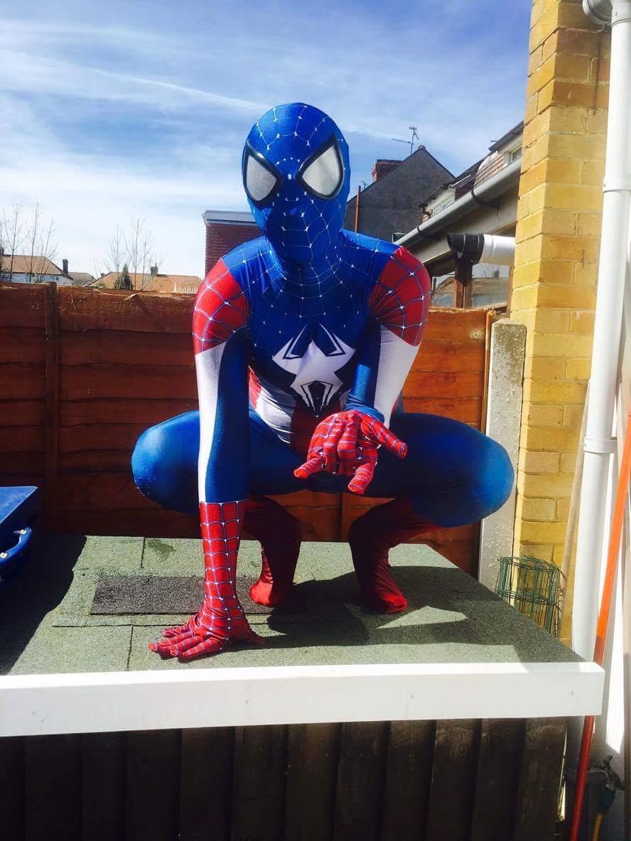 Amazing Captain America Spiderman Costume Halloween