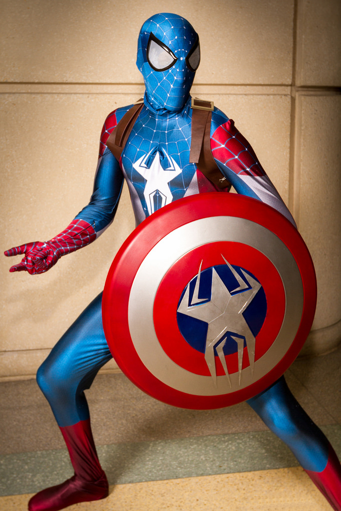 amazing captain america spiderman