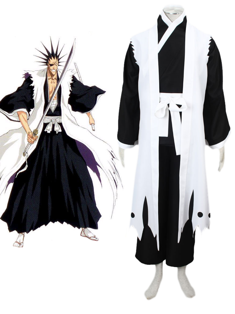 bleach gotei thirteen kenpachi zaraki captain of the 11th division