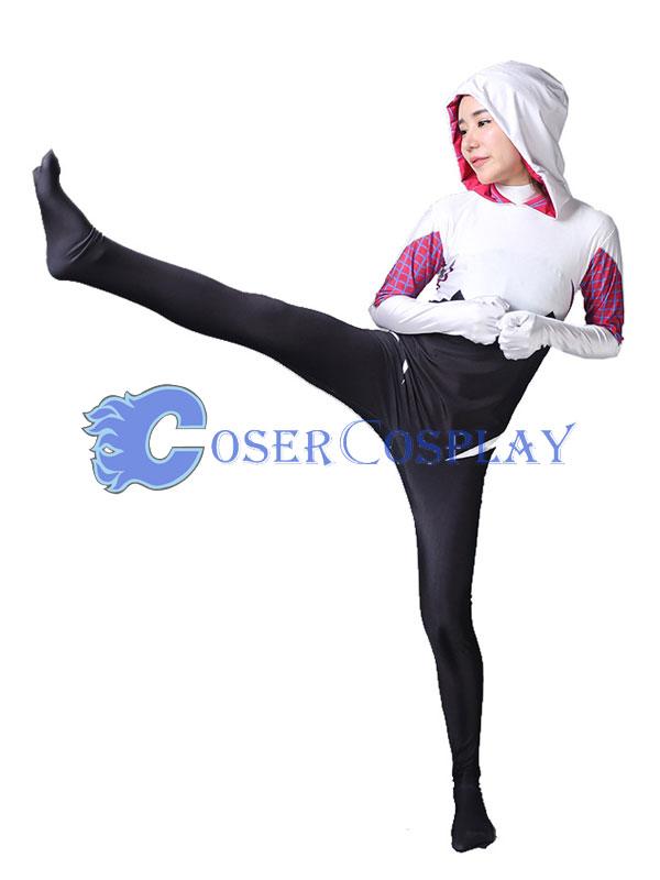 2018 Spider Woman Gwen Stacy Spider Gwen Costume Halloween