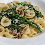 Orecchiette with Broccoli Rabe and Italian Sausage