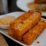 Polenta Fries with Lemon Tarragon Aioli