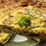 Frittata con Zucchini, Cipolle e Patate – Frittata with Zucchini, Onions and Potatoes