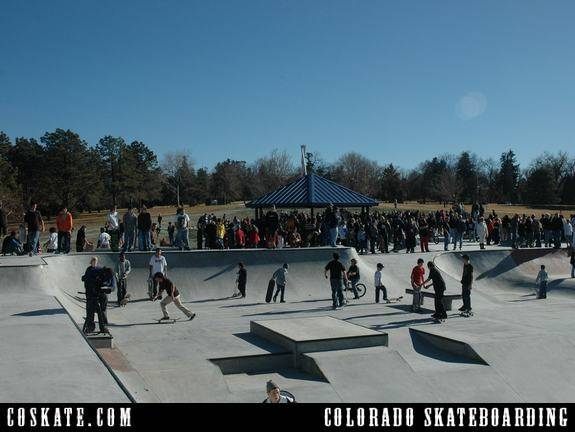 COSkate.com - Memorial Skate Park - Colorado Springs. CO