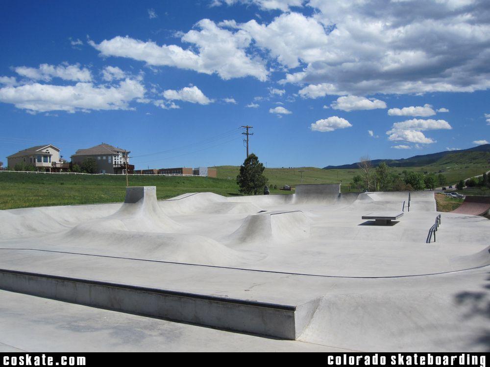 COSkate.com - Roxborough Skatepark - Roxborough Village. CO
