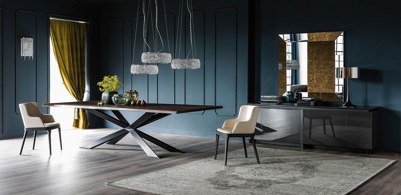 Cattelan qualit e funzionalit dei tavoli 100 made in for Cosma arredamenti