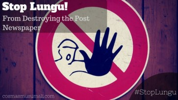 STOP LUNGU FROM DESTROYING THE POST NEWSPAPER