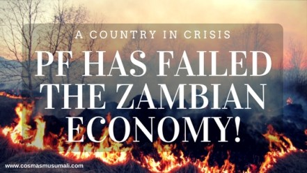 PF Has Failed The Zambian Economy