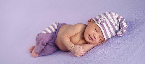 lavender sleepy baby
