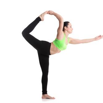 lord of dance yoga pose
