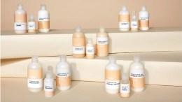 Linha fictícia de produtos para os cabelos Evaus, da Unilever, que na verdade contém os produtos da marca Suave.
