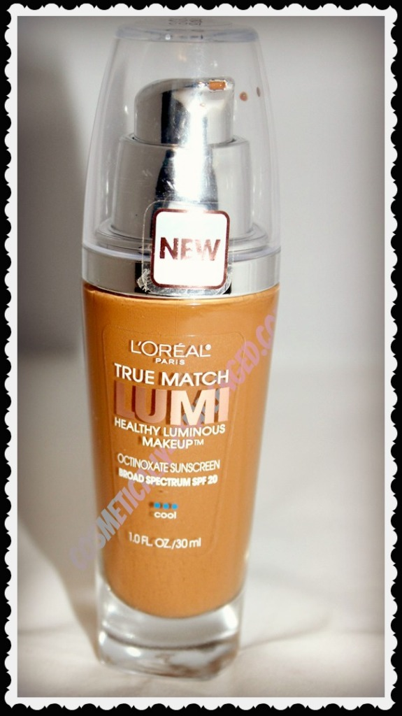 L Oreal True Match Lumi Healthy Luminous Foundation Review