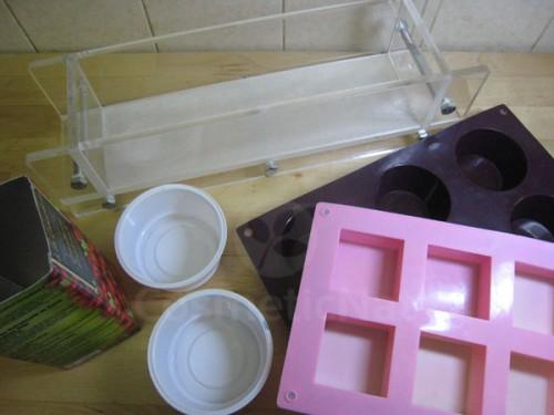Moldes que podemos usar para hacer jabón en casa