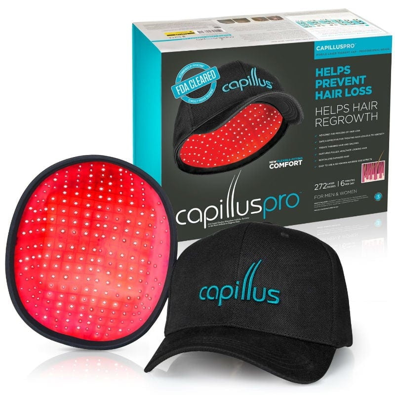 Capillus Laser Hair Growth Cap Reviews | Laser Cap For Hair Loss