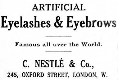Cosmetics and Skin: False Eyelashes