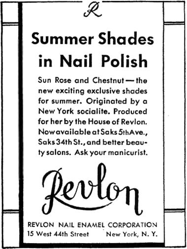Cosmetics and Skin: Revlon