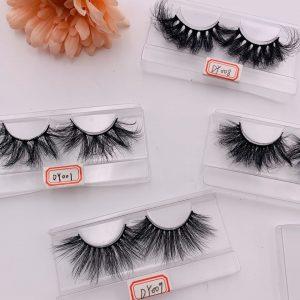 3D 25mm Mink Eyelashes Wholesale