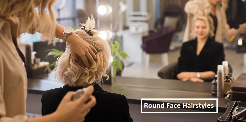 best round face hairstyles