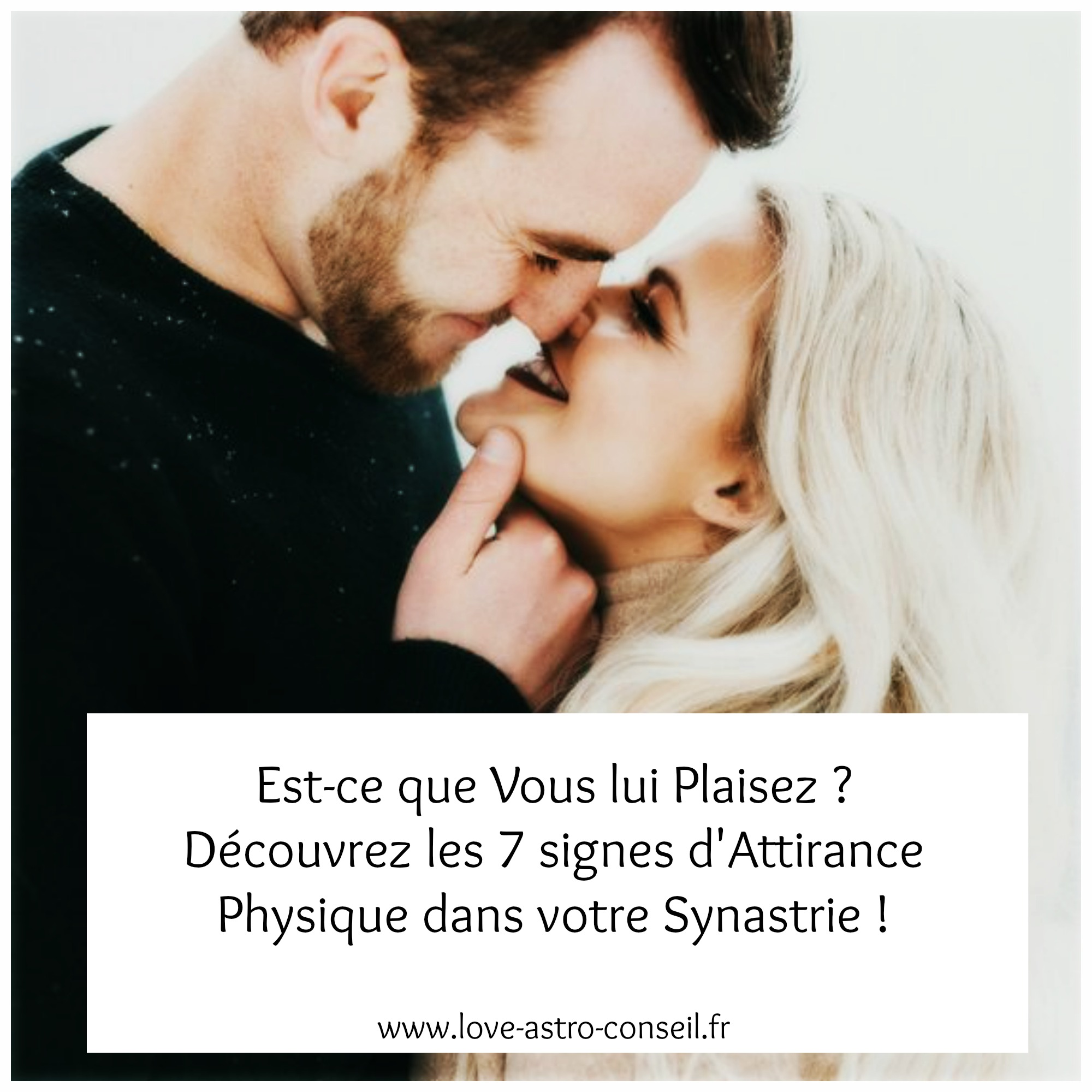 attraction physique synastrie