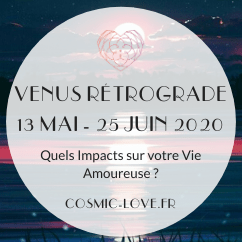 Vénus retrograde 2020
