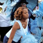 Parade for Zulu King naming, Mid-City New Orleans, 2008