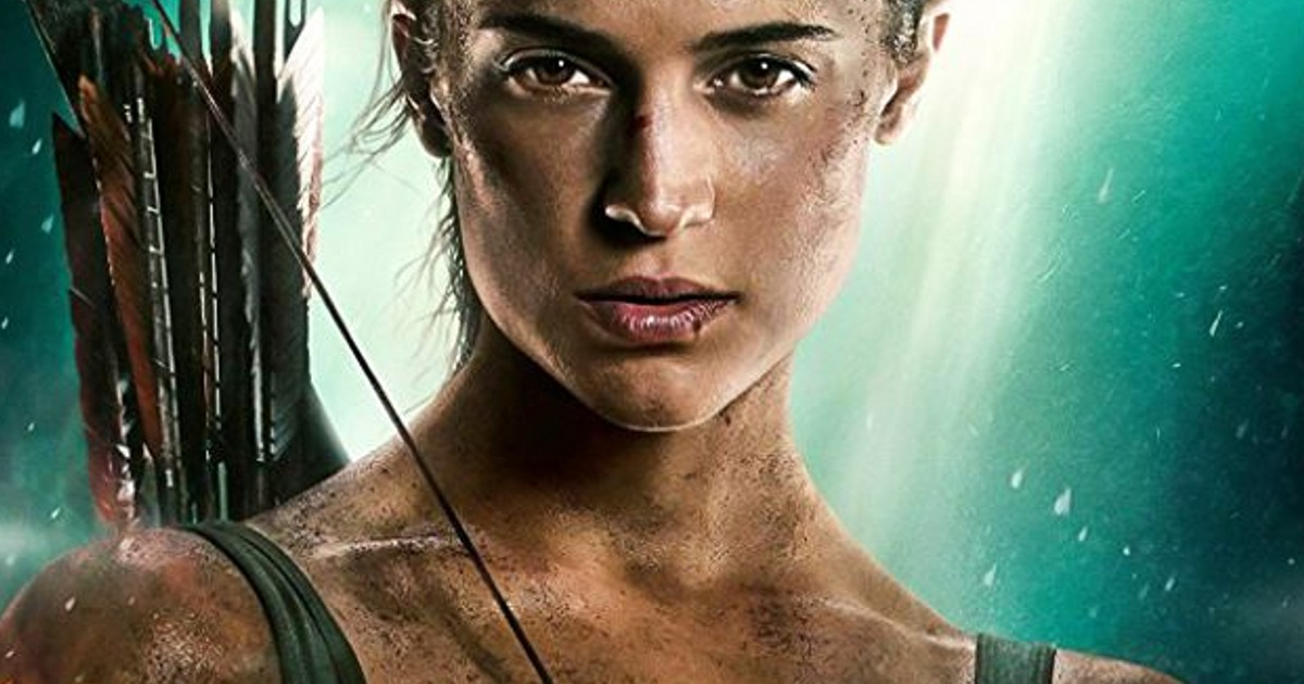 New Tomb Raider Movie Poster Your Nerd Side The Show
