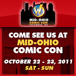 Come see us at Mid-Ohio Comic Con this weekend