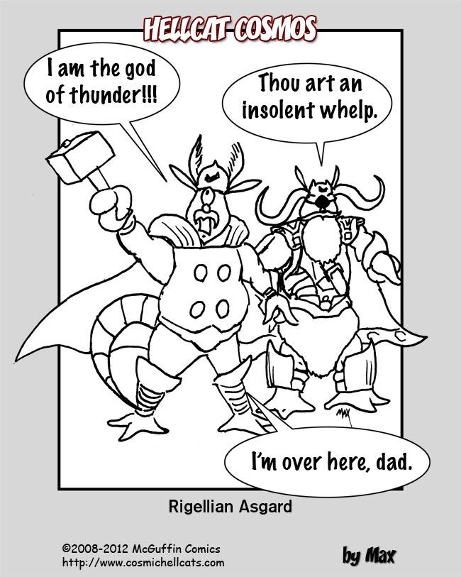 Rigellian Avengers: Thor