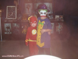 Flash and Joker