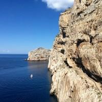 A Grotta di Neptuno e a vista soberba
