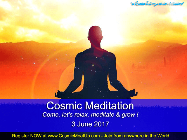 "Quantum Science of Sharing: Meditation Evenings ""Silent Immersion with Shunya Bindu"" – 3rd June 2017"