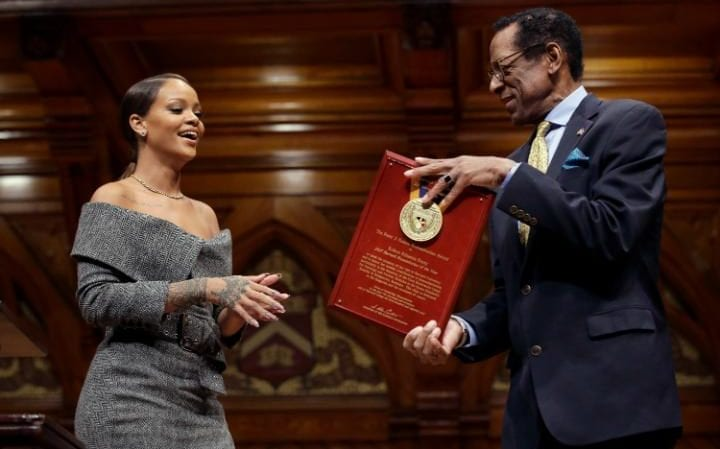 Rihanna charity works