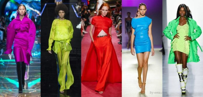 Flashy Colours In Fashion: How Bright Can Your Dress Be?