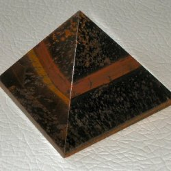 Pyramid Tigers Eye