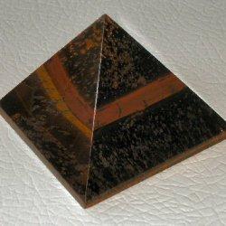 Pyramid Tigers Eye