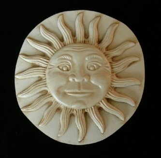 Sun Wall Plaque