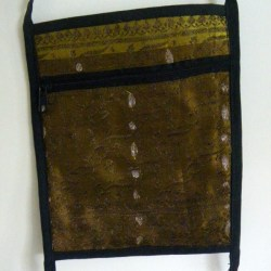 Sari Passport Bag Indian Spice