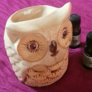 owl oil burner detail
