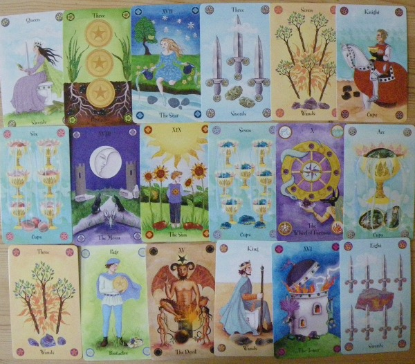 Crystal Tarot deck