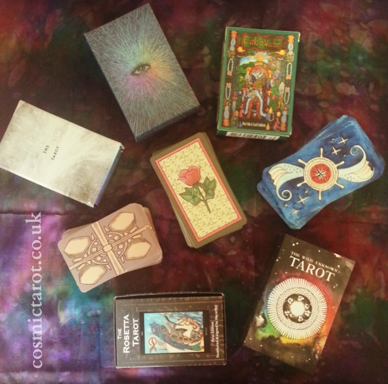 top 10 self-published tarot decks